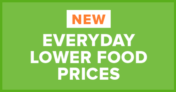 New Lower Prices on Top Food Brands