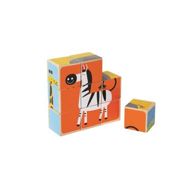 Hape Toys Zoo Animals Block Puzzle