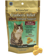 Naturvet Cranberry Relief Plus Immune Support Cat Soft Chews