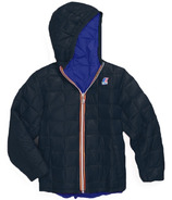 K-Way Jacques Thermo Plus Double Reversible Jacket Royal/Depth Blue