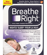 Breathe Right Nasal Strips Nightly Sleep