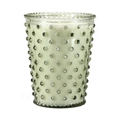Simpatico Hobnail Glass Candle
