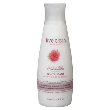 Live Clean Pink Fire Colour Protect Conditioner
