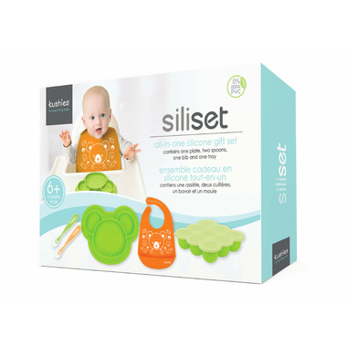 Kushies Siliset All-in-One Silicone Gift Set Neutral