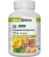 MetaSlim CLA Conjugated Linoleic Acid 1000mg