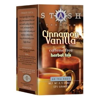 Stash Cinnamon Vanilla Herbal Tea