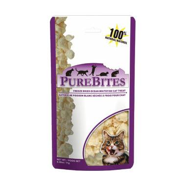 PureBites Freeze Dried Ocean Whitefish Cat Treats