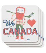 Now Designs O Canada Coaster Set
