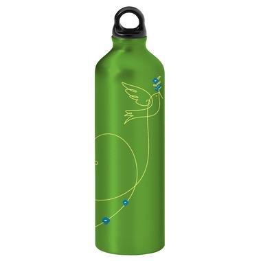 Gaiam Love Bird Aluminum Screw Top Water Bottle