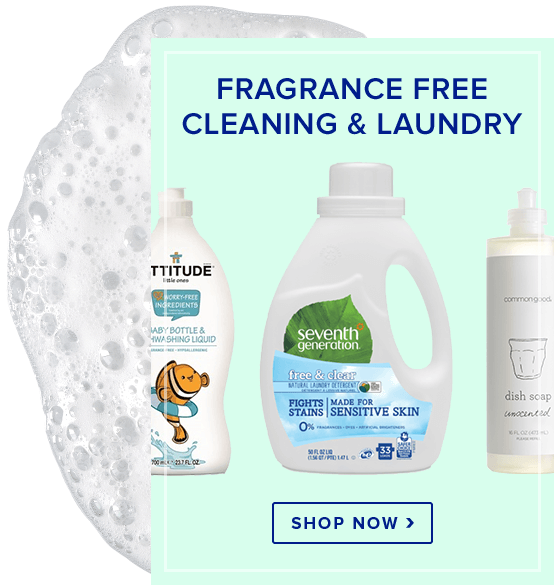 Fragrance Free Cleaning