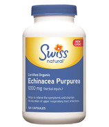 Swiss Natural Certified Organic Echinacea Purpurea