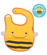 Skip Hop Zoo Bibs Tuck-Away Bib Bee Design