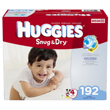 Huggies Snug & Dry Economy Plus