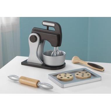 KidKraft Toy Baking Set Espresso