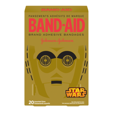 Band-Aid Brand Adhesive Bandages Star Wars