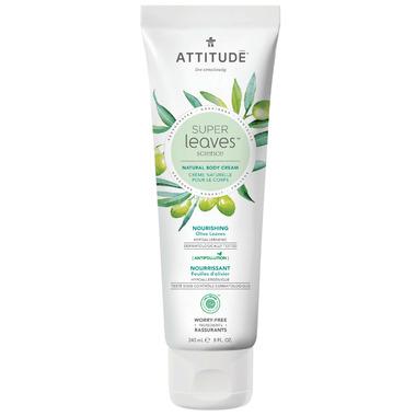 ATTITUDE Super Leaves Natural Body Cream Nourishing