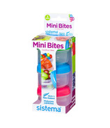 Sistema Mini Bites To Go 3 Pack