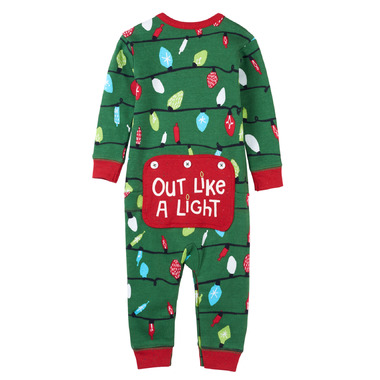 Little Blue House by Hatley Baby Union Suit Northern Lights