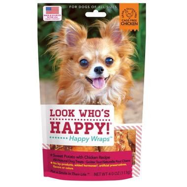 Look Who\'s Happy Happy Wraps Sweet Potato & Chicken