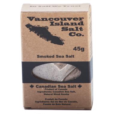 Vancouver Island Salt Co. Smoked Canadian Sea Salt