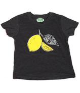 Little Orchard Co. Lemon Squeezy Tee Black