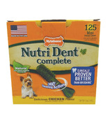 Nutri Dent Complete Dental Chews Chicken Mini Size 125 Pack