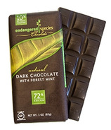 Endangered Species Dark Chocolate Bar with Forest Mint