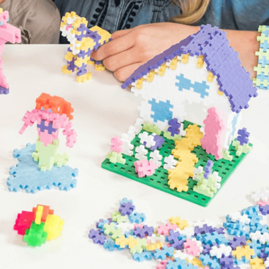 Plus Plus Learn to Build Set Pastel Colours