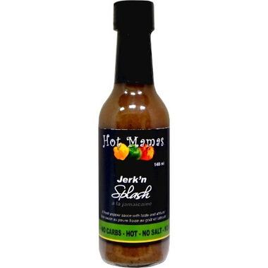 Hot Mamas Jerk\'n Hot Splash Hot Sauce