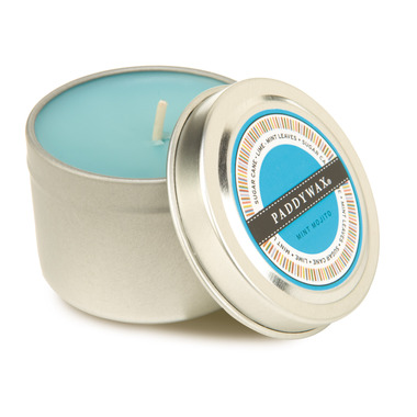 Paddywax Classic Collection Travel Tin Candle