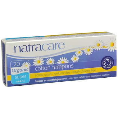 Natracare Organic Tampons Non-Applicator