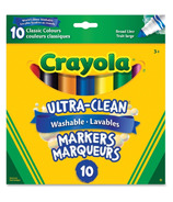 Crayola Ultra-Clean Washable Markers Set