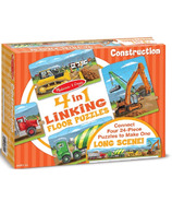 Melissa & Doug Construction Linking Floor Puzzle