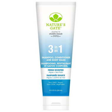Nature\'s Gate 3 in 1 Shampoo, Conditioner & Body Wash Fresh Scented