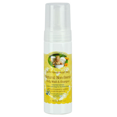 Earth Mama Angel Baby Natural Non-Scents Shampoo & Body Wash