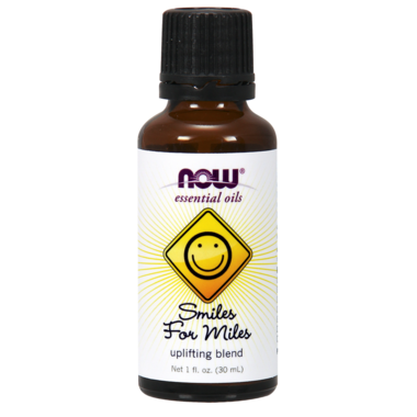 NOW Essential Oil Smiles for Miles Blend