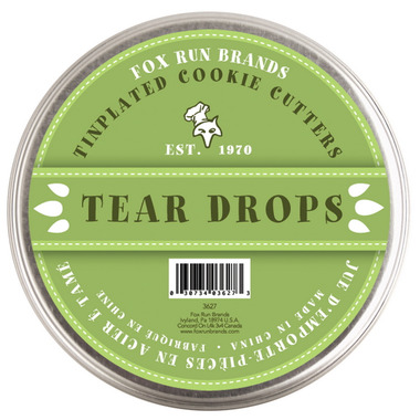 Tear Drop Cookie Cutters