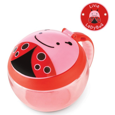 Skip Hop Zoo Snack Cup Lady Bug