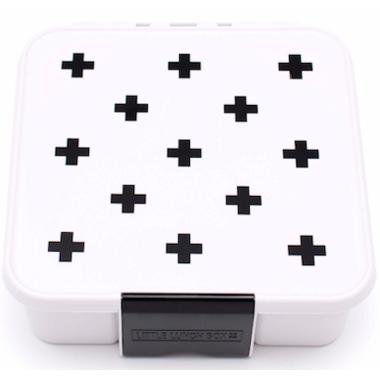 Little Lunch Box Co. Bento 5 White Monochrome