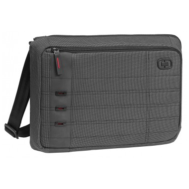 OGIO 15 Inch Renegade Slim Laptop Bag in Black Pindot