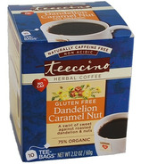 Teeccino Dandelion Caramel Nut Herbal Coffee
