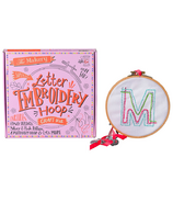 Makery Letter Embroidery Hoop