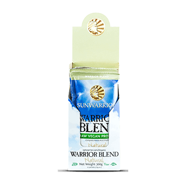 Sun Warrior Warrior Protein Blend Single Serve Packs Natural