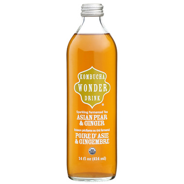 Kombucha Wonder Drink Asian Pear Ginger