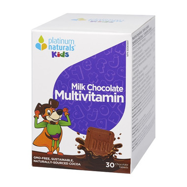 Platinum Naturals Kids Milk Chocolate Multivitamin