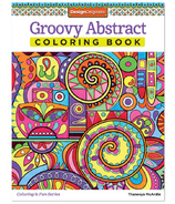 Fox Chapel Groovy Abstract Coloring Book