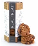 Real Treat Organic Dark Chocolate Chunk with Smoked Pecan Cookies