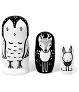 Wee Gallery Nesting Dolls Woodland Creatures
