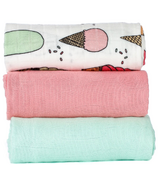 Baby Tula Blanket Set Triple Scoop