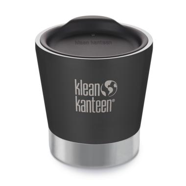 Klean Kanteen Vacuum Insulated Stainless Steel Tumbler Shale Black Matte